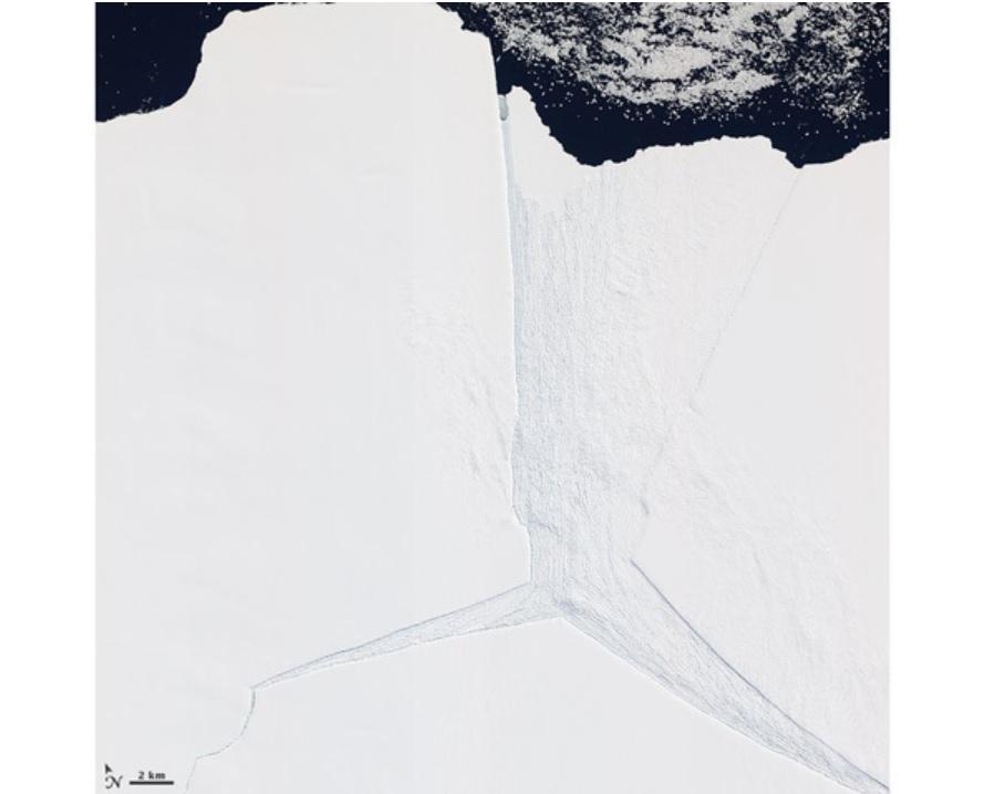 Gigantesco lago desaparece repentinamente na Antártida - 2