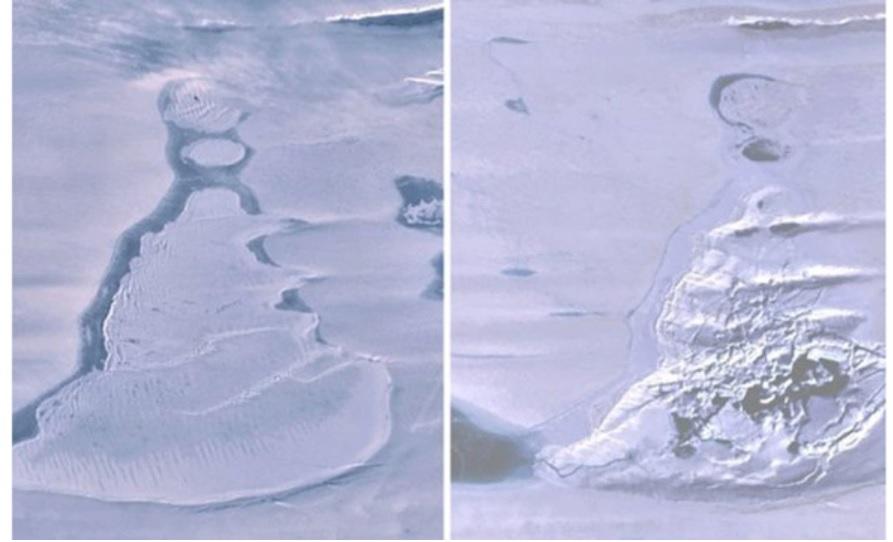Gigantesco lago desaparece repentinamente na Antártida - 1