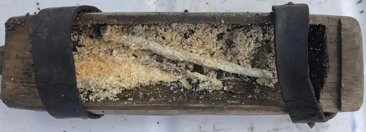 Revelado o conteúdo de misteriosa caixa encontrada em estrada viking - 1