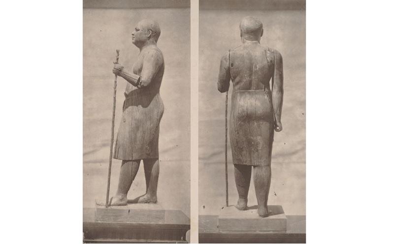 A extraordinária descoberta da estátua egípcia de madeira com olhos de cristal - 1