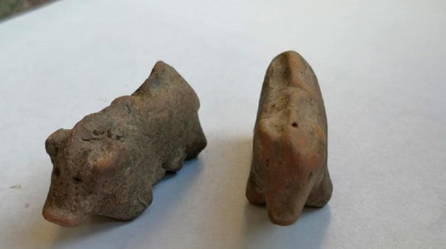 Encontrados na Polônia brinquedos de crianças pré-históricas - 1