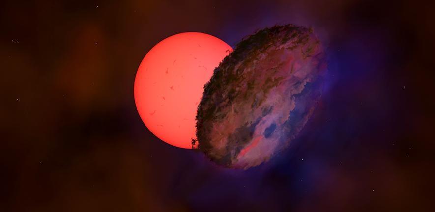 Estrela gigante que pisca no centro da Via Láctea intriga pesquisadores - 1