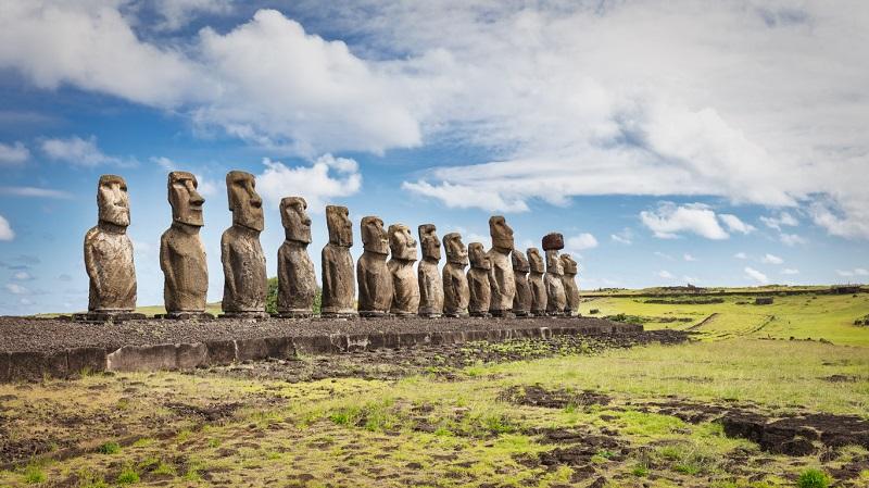 Estudo revela origens dos primeiros habitantes da Ilha de Páscoa - 1