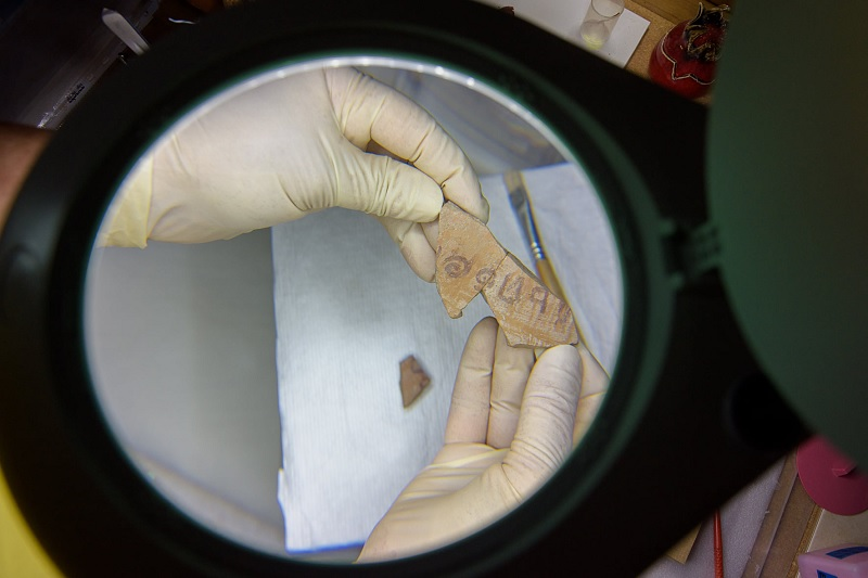 Inscrição de 3 mil anos com nome de herói bíblico é encontrada em Israel - 1