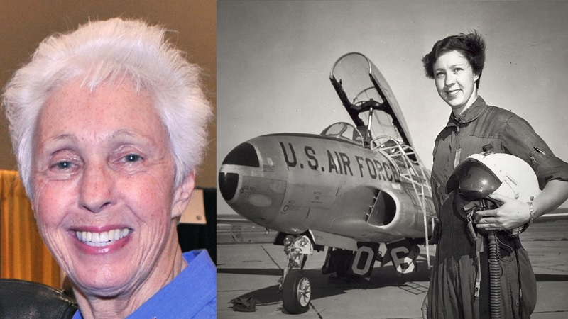 Wally Funk se torna a pessoa mais velha no espaço ao embarcar em voo de Jeff Bezos - 1