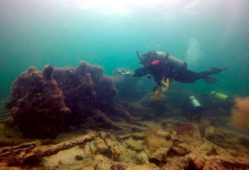 Destroços de navio usado para traficar maias escravizados são encontrados no México - 2