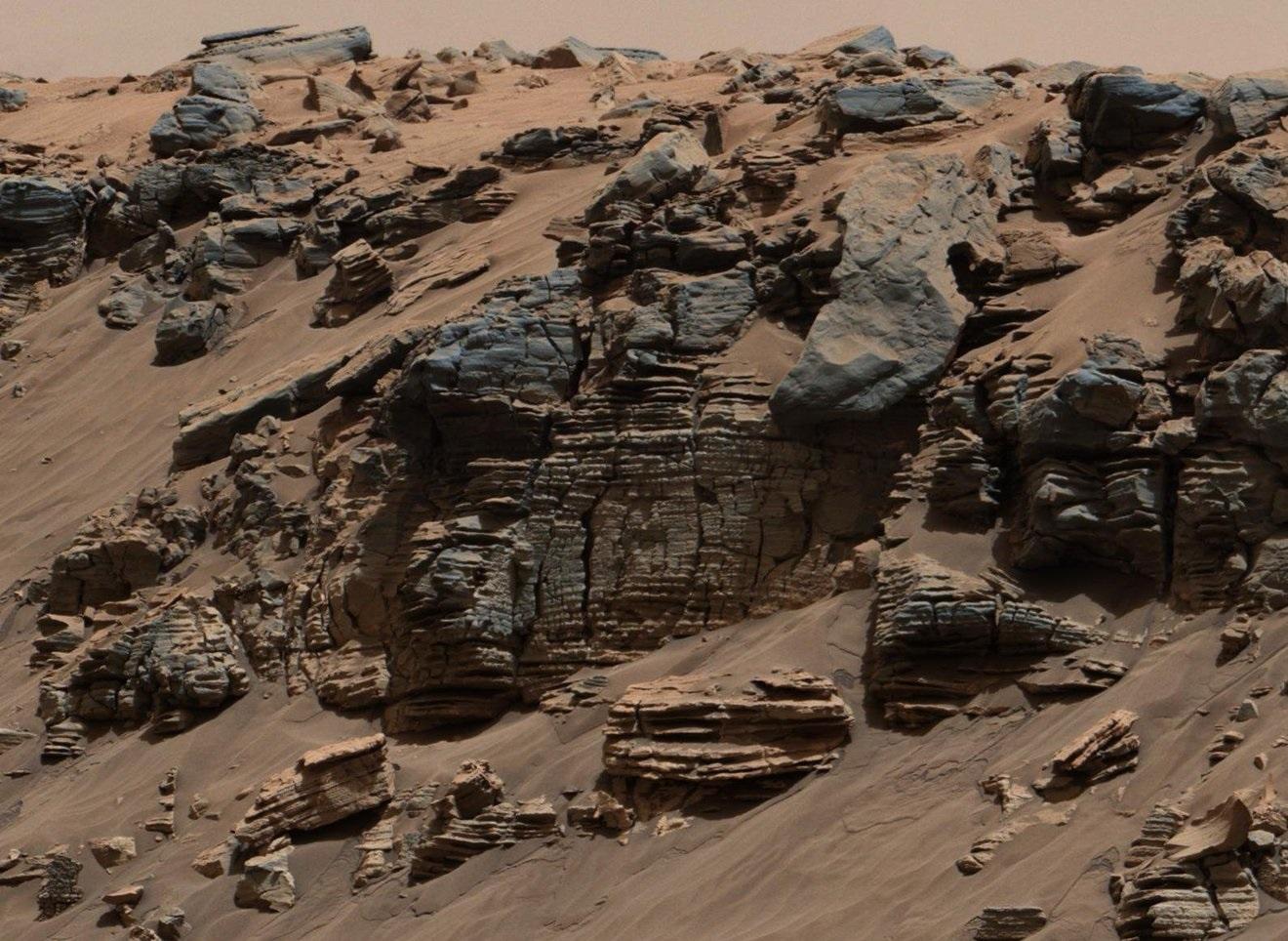 Sonda Curiosity descobre que evidências de vida em Marte podem ter sido apagadas - 1
