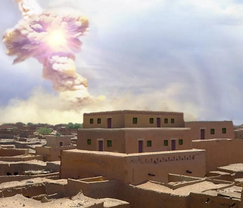 Queda de asteroide pode ter inspirado relato da destruição de Sodoma e Gomorra - 1